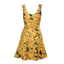 Pokémon Women's All Over Pikachu Dress - Yellow