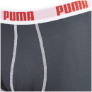 Puma Men's 2 Pack Basic Boxers - Navy/Blue