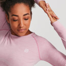 IdealFit Seamless Long Sleeve Top - Pink