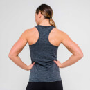 L - Seamless Vest Tank Top - Charcoal