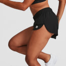 IdealFit 4-Way Stretch Shorts - Black