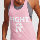 XL - IdealFit Racer Back Vest - Pink