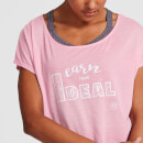 IdealFit Core Scoop Hem T-Shirt - Pink