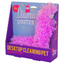 The Llama Duster - The Desktop Cleaning Pet - Pink