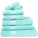 Restmor 100% Egyptian Cotton 7 Piece Supreme Towel Bale Set (500gsm) - Aqua