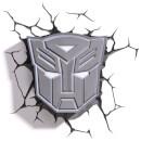 Transformers 3D Autobot Shield Wall Light