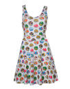Pokémon Women's All Over Pokéballs Dress - White