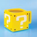 Nintendo Super Mario Question Block Mug - Yellow