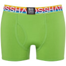 Crosshatch Men's 3 Pack Prizlet Boxer Shorts - Blue/Green/Pink