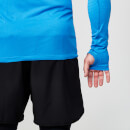 Seamless Long-Sleeve T-Shirt - XL - Blue