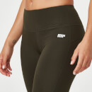 Myprotein Classic Heartbeat Full Length Leggings - XS - Dark Khaki