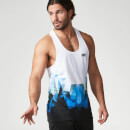 Digital Geo Print Stringer Vest