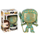 DC Comics Batman v Superman POP! Heroes Vinyl Figure Aquaman (Patina) 9 cm