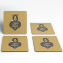 Gin And Bear It Coasters