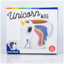 Tasse Thermosensible Licorne -Blanc