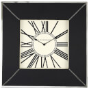 Fifty Five South Kensington Townhouse Wall Clock - Black