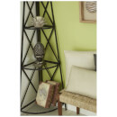 Fifty Five South Complements Lotus Candle Holder - Light Grey