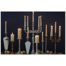 Fifty Five South Complements Medium 5 Arm Candelabra - Nickel Finish