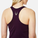 Lucas Hugh Women's Core Technical Knit Tank Top - Aubergine