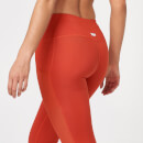 Beat Leggings - XS - Clay Red