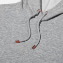 Luxe Classic Hoodie - S - Grey Marl