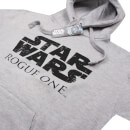 Star Wars Men's Logo Hoody - Grey Marl