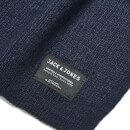 Jack & Jones Men's DNA Knitted Scarf - Navy Blazer