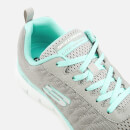Baskets Femme Flex Appeal 2.0 Break Free Skechers - Gris / Bleu Clair