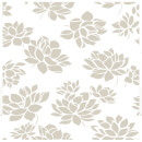 Superfresco Lotus Flower Glitter Wallpaper - Gold