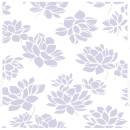 Superfresco Lotus Flower Glitter Wallpaper - Lilac