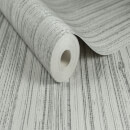 Boutique Jutte Textured Plain Metallic Wallpaper - Grey