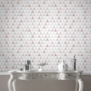 Superfresco Easy Tarek Geometric Wallpaper - Rose Gold