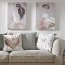 Art For The Home Grace Ballerina Printed Canvas Wall Art
