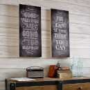 Art For The Home Good Things Wall Art Print On Wood