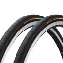 Continental Gatorskin Hardshell Clincher Tyre Twin Pack