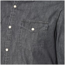 Jack & Jones Originals Men's New One Long Sleeve Denim Shirt - Black