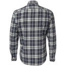 Chemise à Carreaux Homme Originals Bravo Jack & Jones - Gris