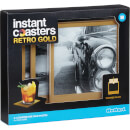 Fotountersetzer - Retro-Gold (4er Set)