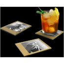 Photo Coasters – Retro Gold