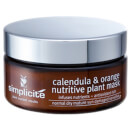 Simplicite Calendula And Orange Nutritive Plant Mask
