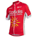 Cofidis Short Sleeve Jersey 2017 - Red/White