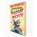 Disney Tugboat Mickey Printed Canvas Wall Art