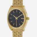 Nixon Men's The Time Teller Watch - All Light Gold/Cobalt