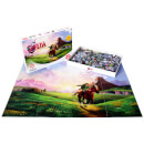 The Legend of Zelda Ocarina of Time Puzzle (1000 Pieces)