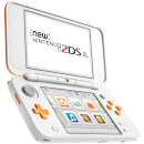 New Nintendo 2DS XL White and Orange