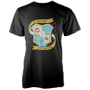 Blue Guild Men's Black T-Shirt