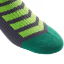 Sealskinz MTB Ankle Socks with Hydrostop - Anthracite/Lime