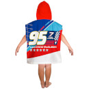 Disney Cars 3 Lightning Poncho Towel