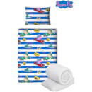Peppa Pig George Speed Bed Bundle - Junior