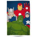 Disney Marvel Avengers Mission Fleece Blanket